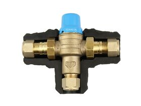 Tomson Standard Tempering Valve with Insulation 15mm