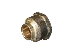 Crox Nuts 15mm Brass (Flat Seat)