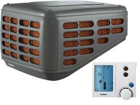 Kaden Evap Cooler Low Profile KL Charcoal