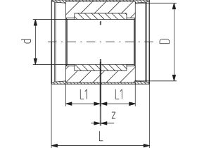 Technical Drawing - Cool-Fit 2.0 Coupling PN16