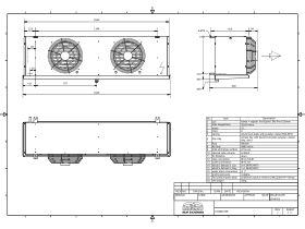 Cabero Evaporator Low Temperature CH4B2-35E-1