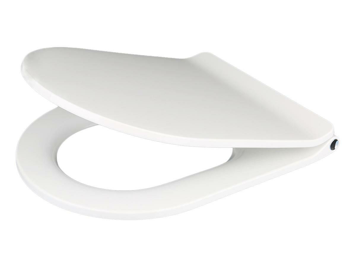 Kado Lux Thin Soft Close Quick Release Toilet Seat White