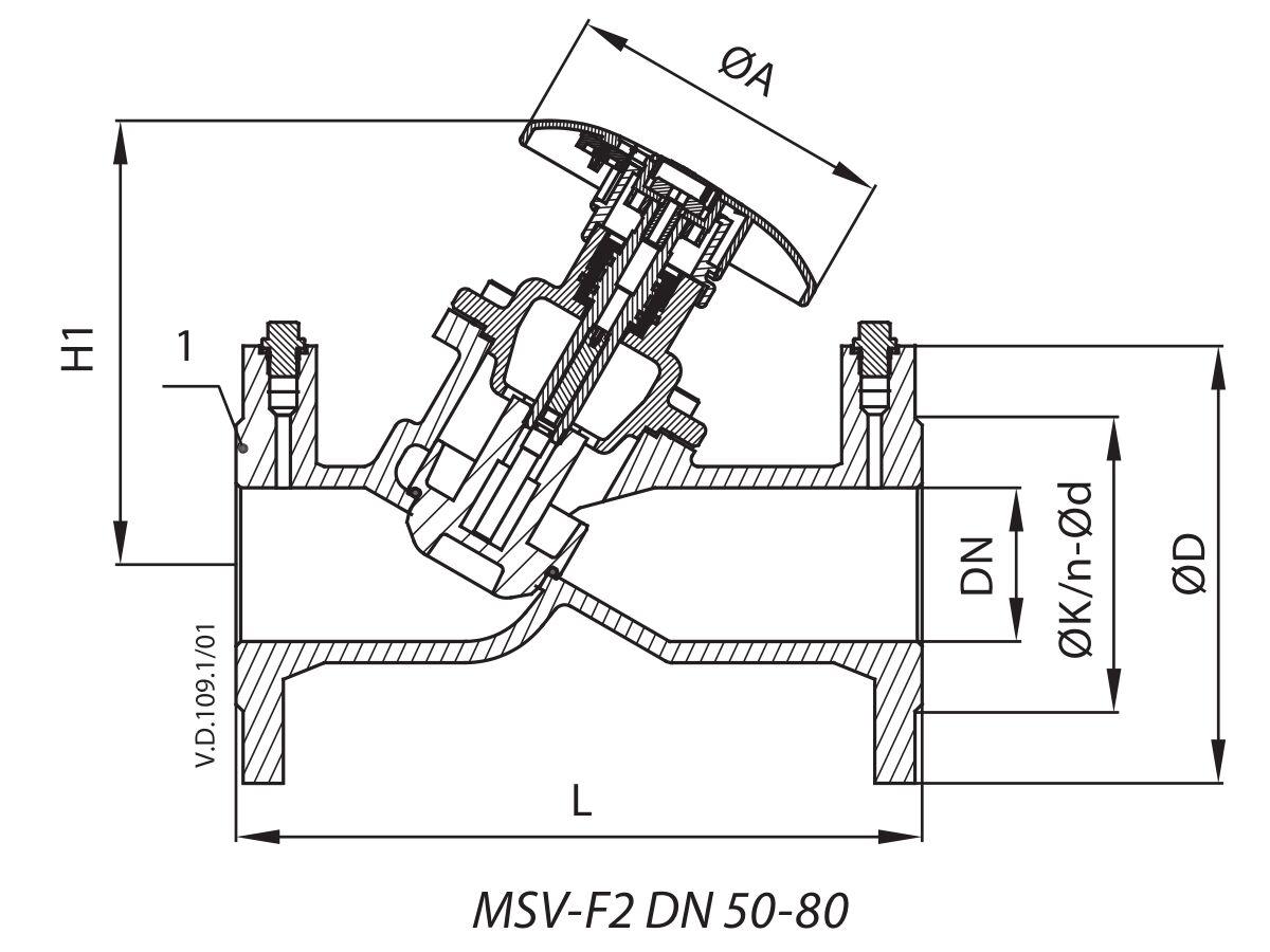 MSV-F2 DN 50-80
