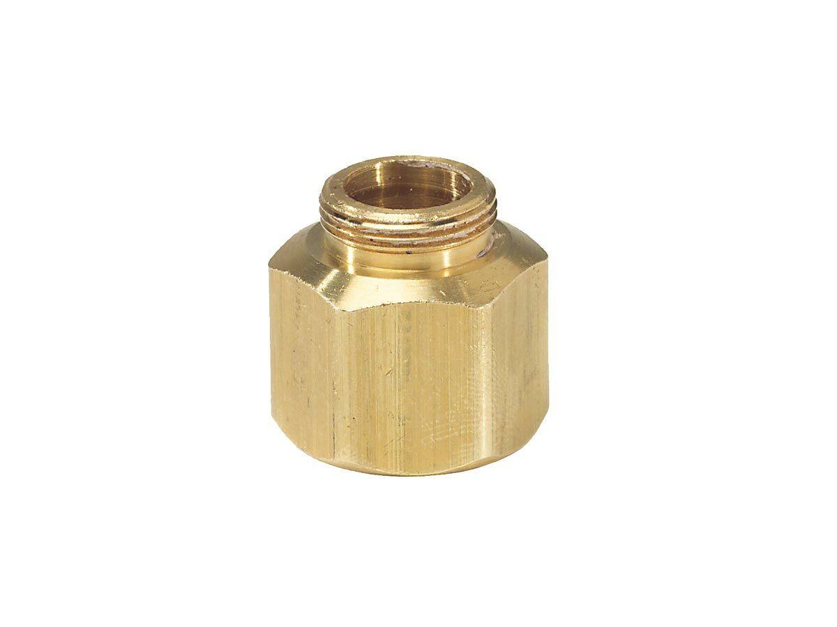 "Weathermatic Brass Shrub Head Adaptor 1/2"" LPS"""