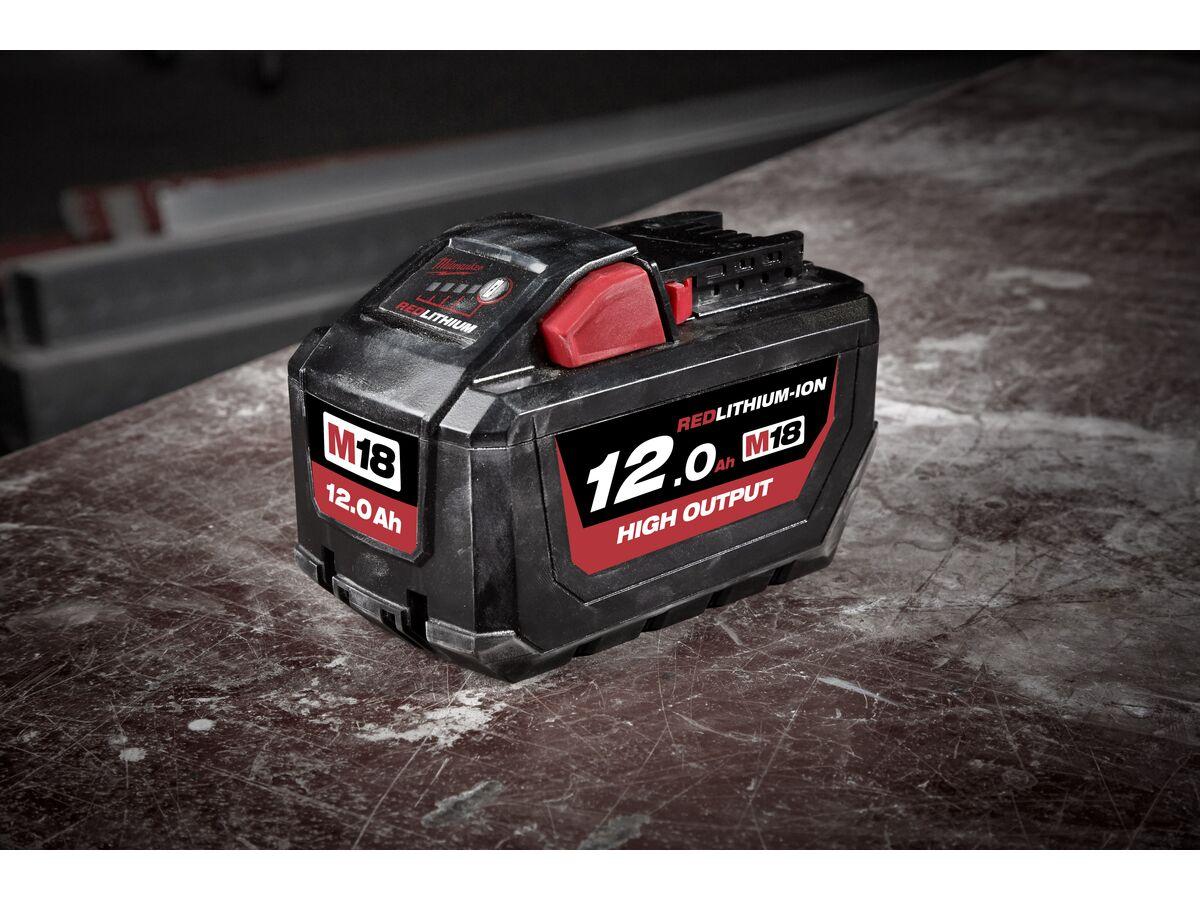 Milwaukee M18 High Output 12 Ah Battery