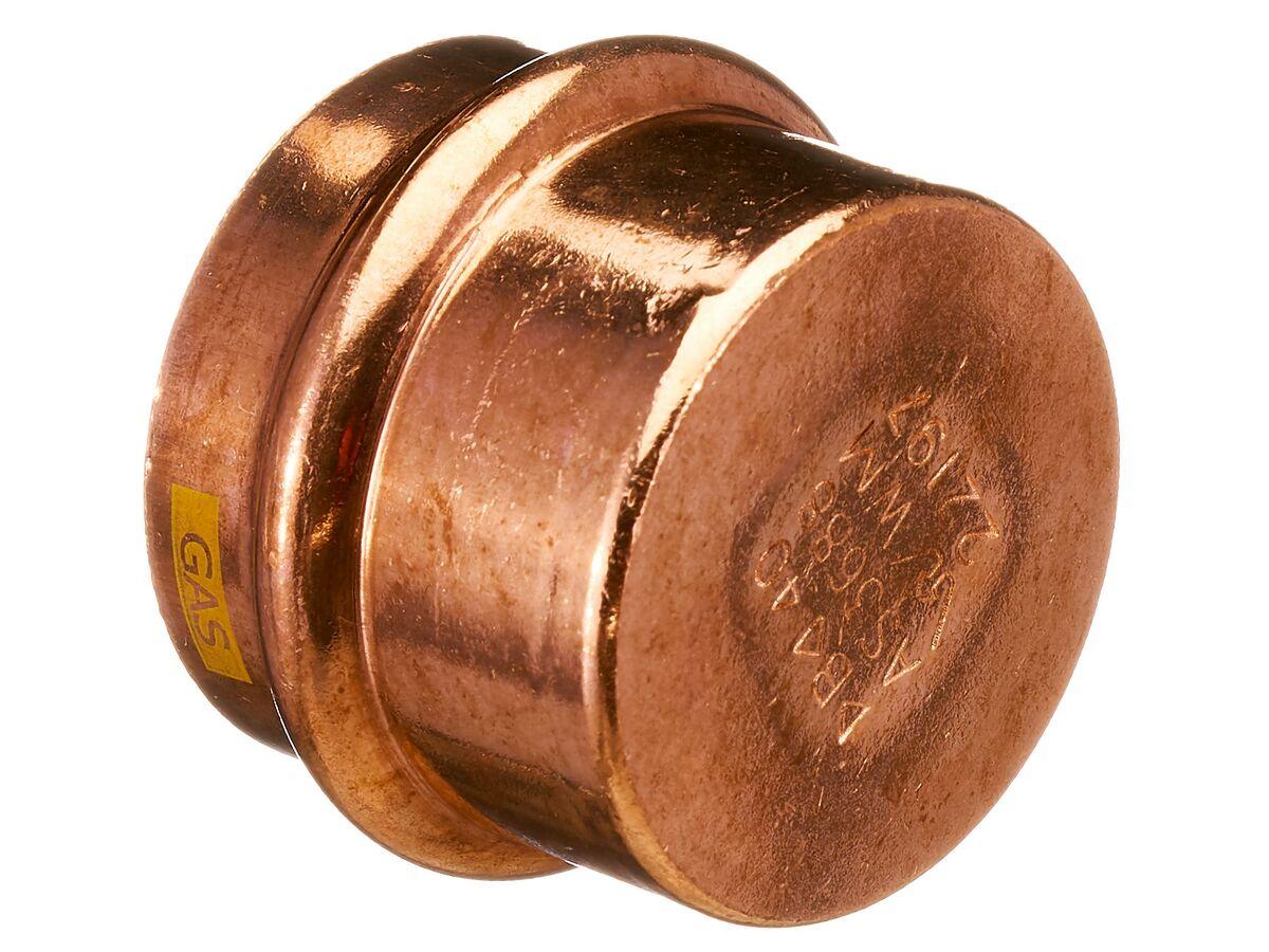 >B< Press Gas End Cap 40mm