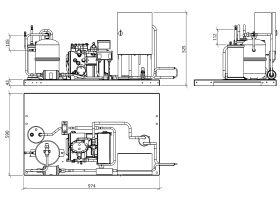 Tecumseh Semi Hermetic Receiver Unit SHR4521ZHR