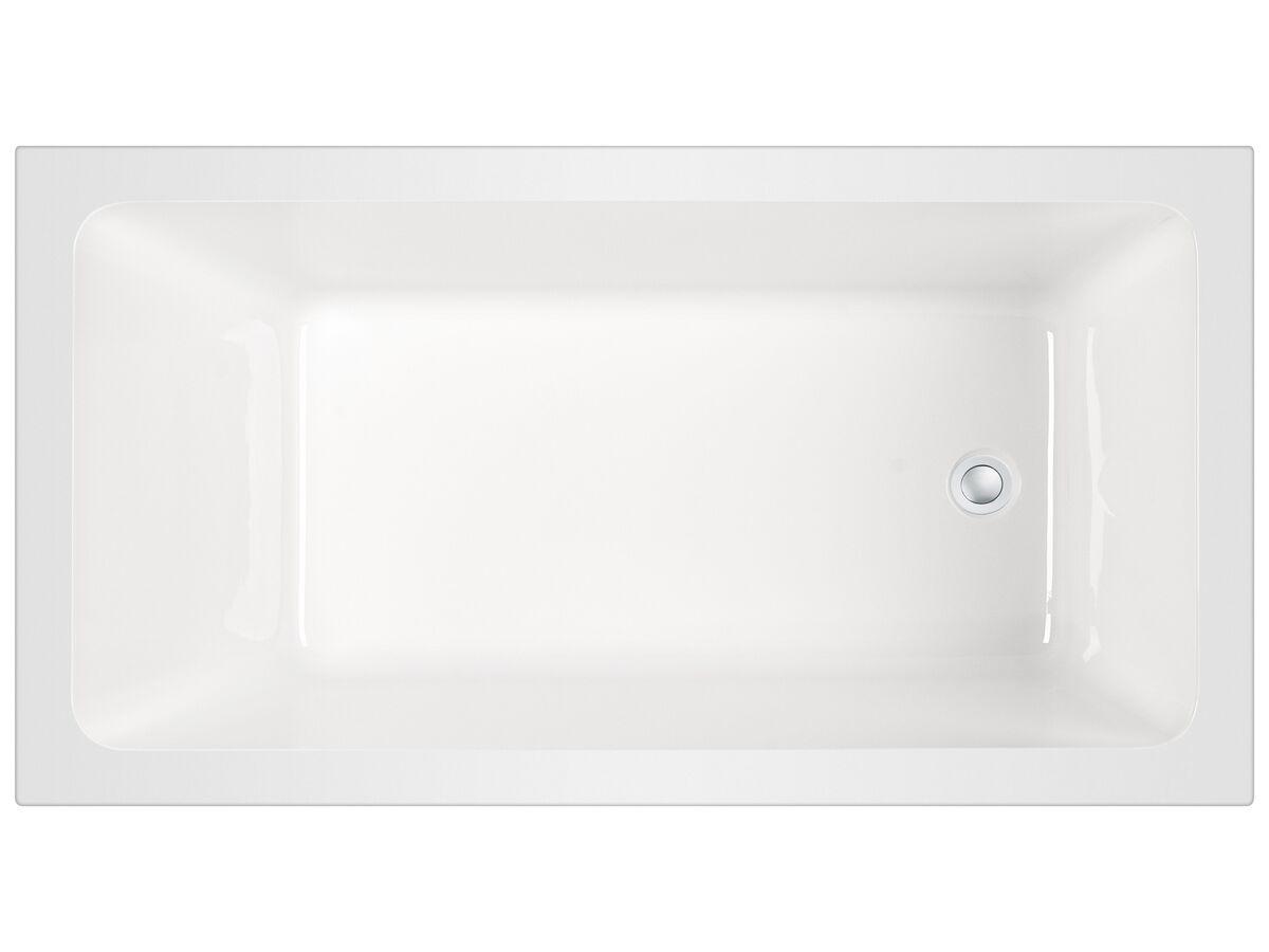 Posh Domaine Inset Bath 1525 x 800 x 500mm White
