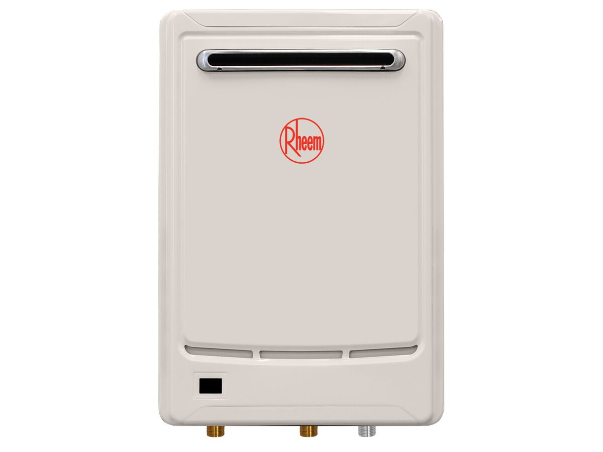 Rheem GCFWH Continuous Flow Hot Water Unit NG Frost 6 Star 55 degrees 16 Litres