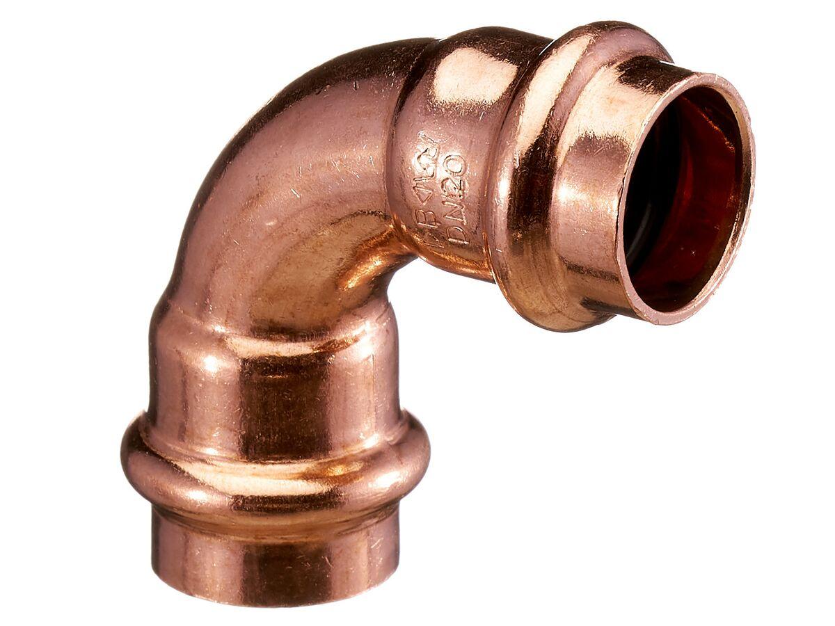 >B< Press Water Elbow 90 Degree x 15mm