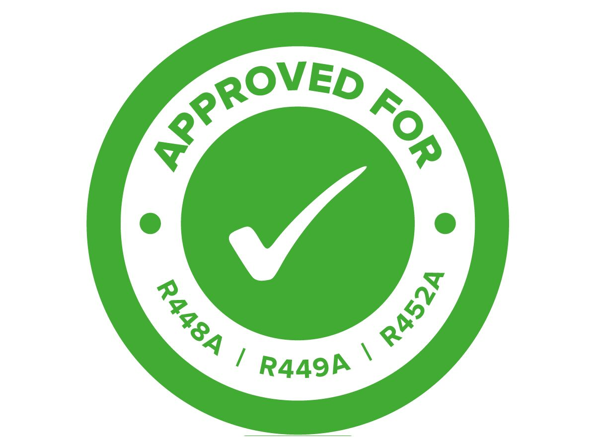 R448A R449A R452A Approval Sticker