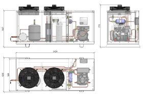ACPAC Packaged Condensing Unit APS4.6ML2-1
