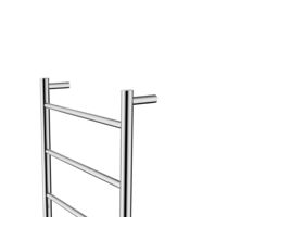 Posh Solus MK2 Heated Towel Rail 500mm x 700mm Polished Stainless Steel