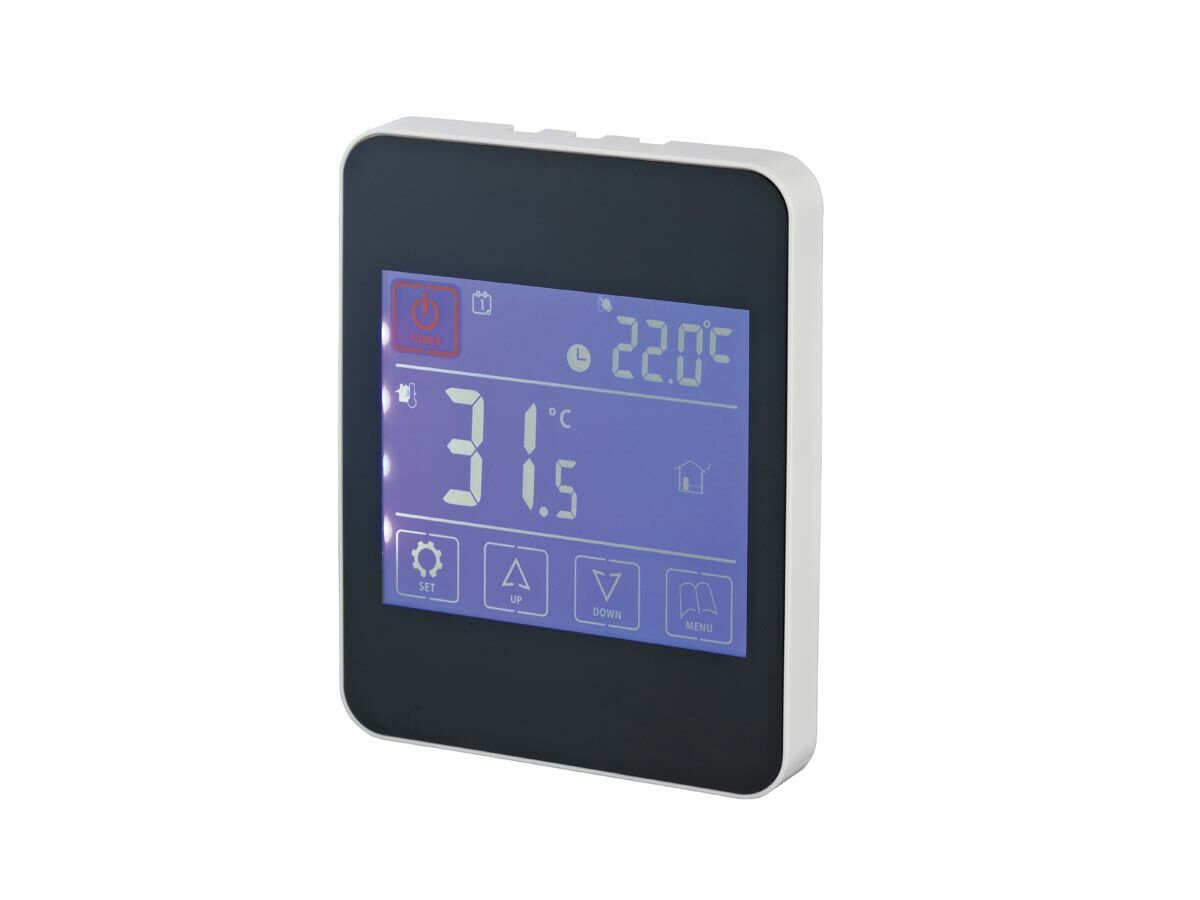 Auspex Radiant Touch Thermostat Black
