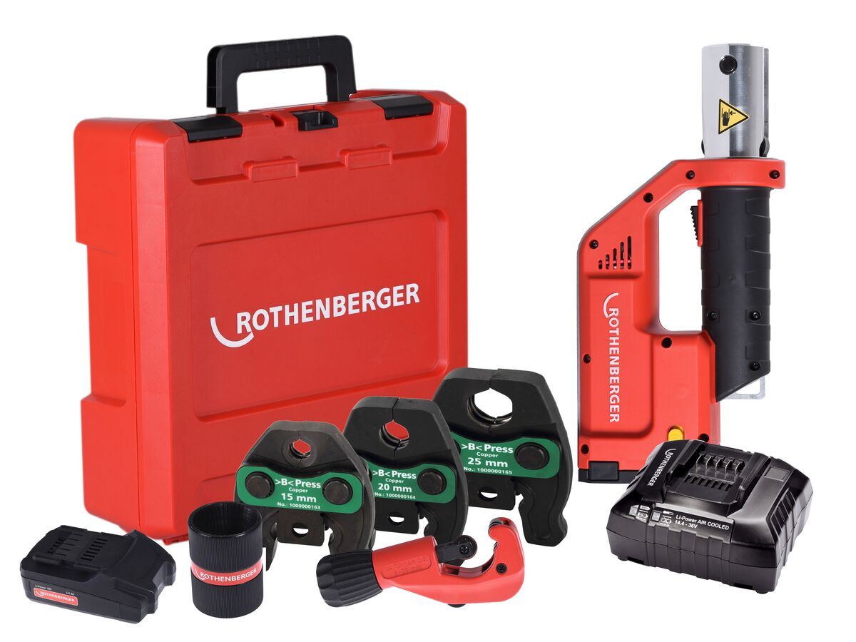 Rothenberger Compact TT B-Press Tool Kit 15-25