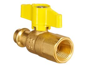 QT Lever Ball Valve Gas Copper DN15 x Female BSP 1/2""""