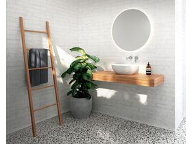 Kado Lussi Basin, Kado Arc Towel Ladder, Bench, Kado Aspect Mirror