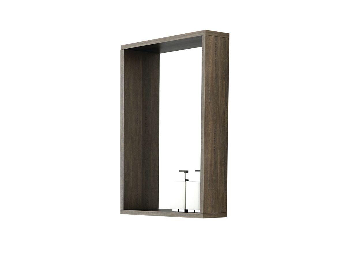 Venice 450 Box Frame Mirror Mali Wenge