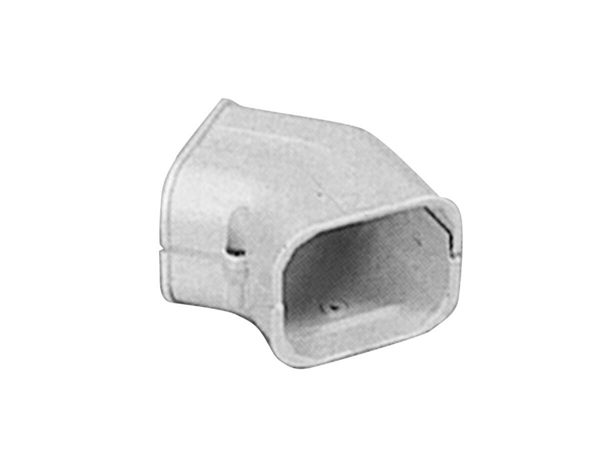 Quikfit Wall Hung Duct 45 Degree Elbow 100mm