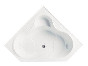 Posh Solus Corner Bath 1500mm White