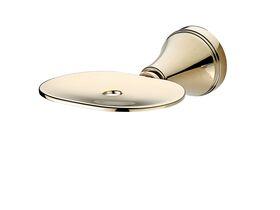 Kado Classic Soap Dish Brass Gold