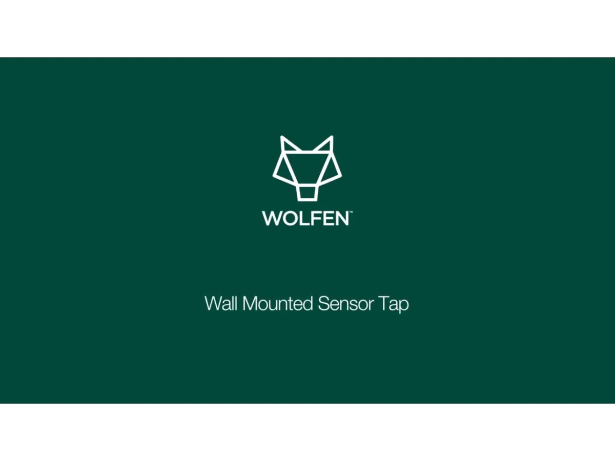 Wolfen Wall Mounted Sensor Tap