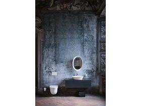 LAUFEN The New Classic Toilet Brush & Holder White