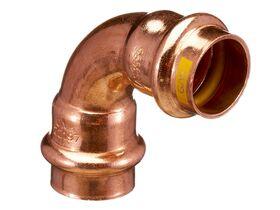 >B< Press Gas Elbow 90 Degree x 20mm
