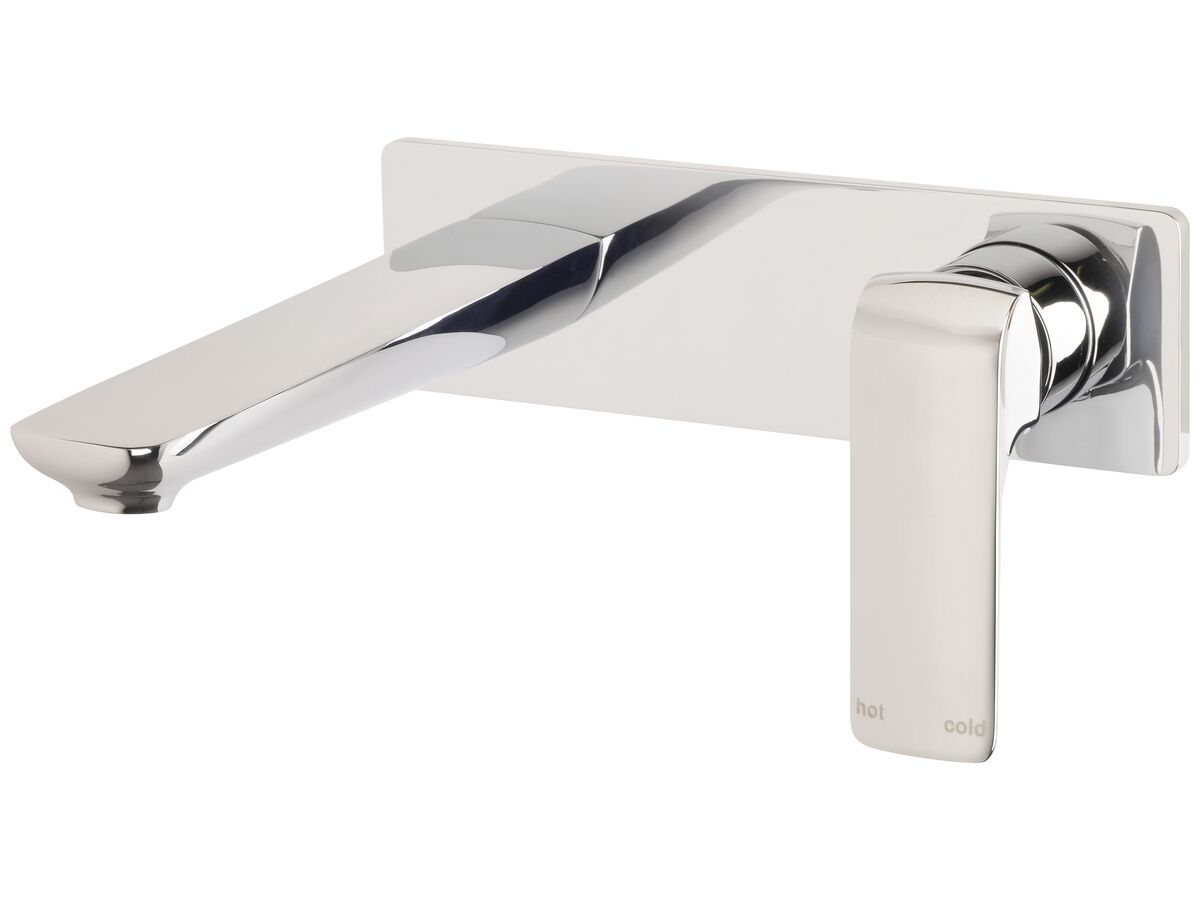 Milli Glance Wall Basin / Bath Mixer Set 180mm Chrome