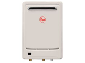 Rheem GCFWH Continuous Flow Hot Water Unit NG Frost 6 Star 55 degrees 20 Litres