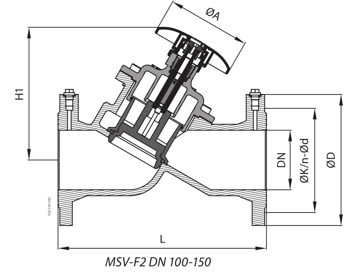 MSV-F2 DN 100-150
