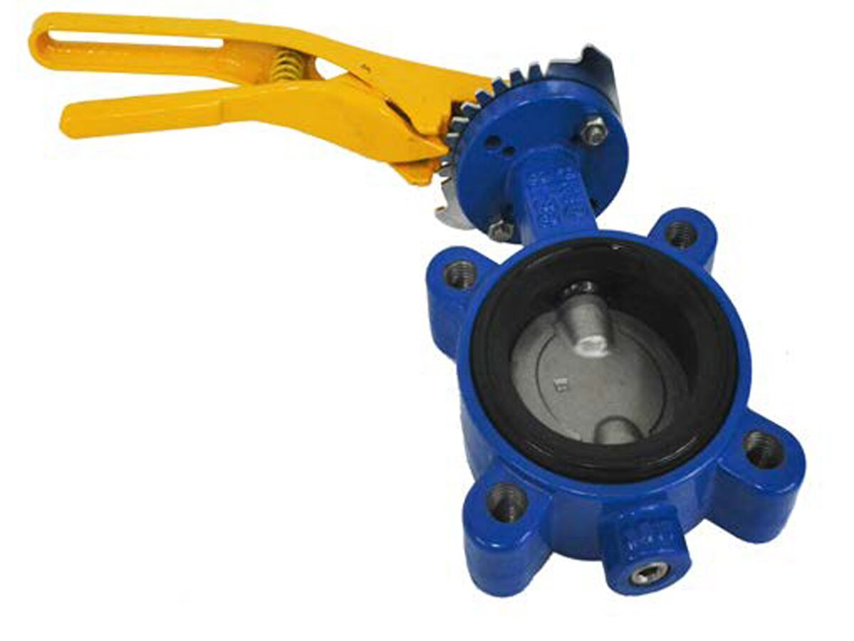 Dura AGA Butterfly Valve Lugged with Handle
