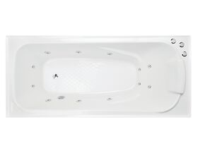 Solus MKII Contour 12 Jets 1520mm White