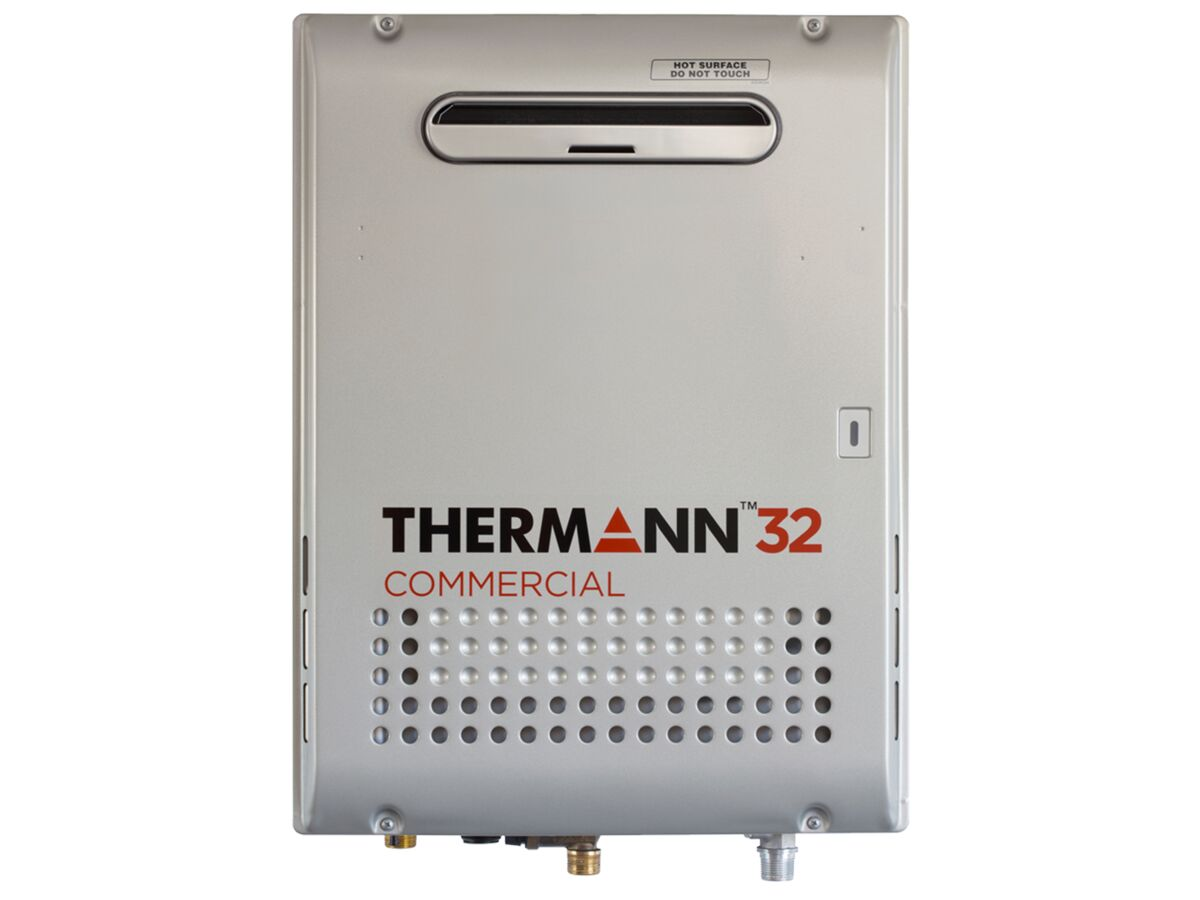 Thermann Commercial Continuous Flow Hot Water Unit External 32ltr