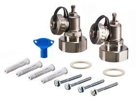 Rehau Manifold Flowmeter HKV-D Stainless Steel 10 Circuits