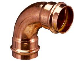 >B< Press Gas Elbow 90 Degree x 50mm