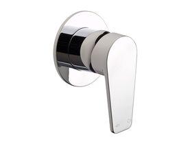 Yeva Shower Mixer with Round Plate Chrome