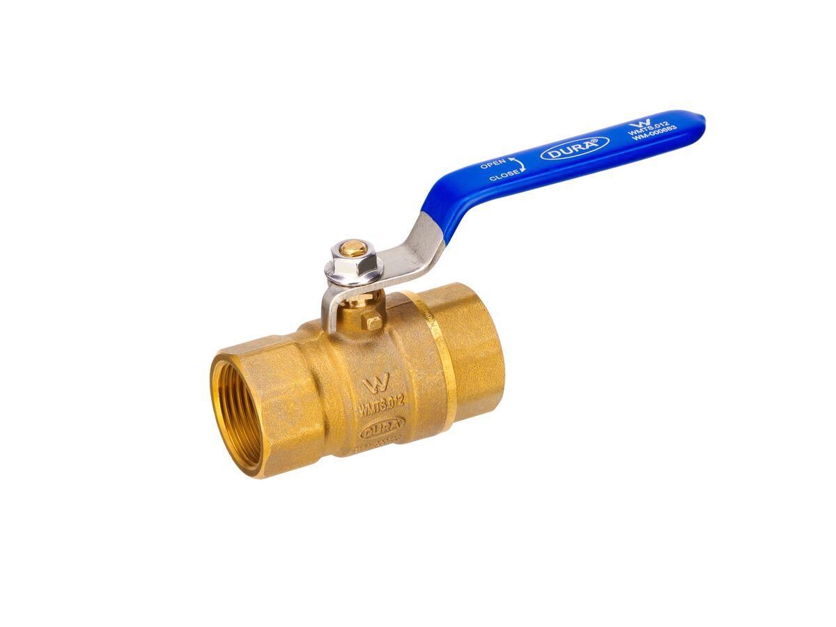 Dura Brass Water Ball Valve Female & Female 25mm