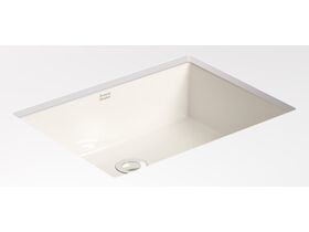 American Standard Heron Square Under Counter No Taphole White