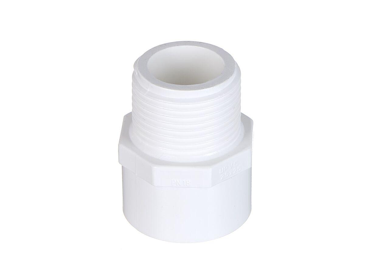 PVC Pressure Valve Socket #17 25mm x 25mm Male
