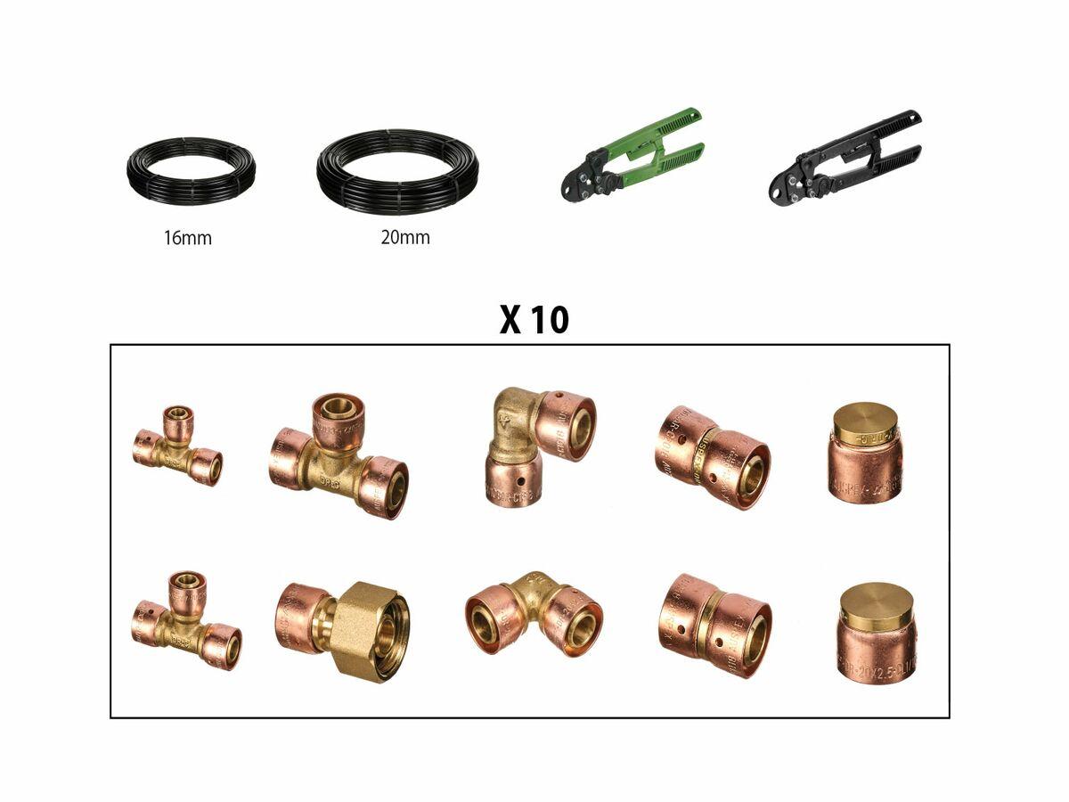 Auspex Manual Starter Kit & Fittings