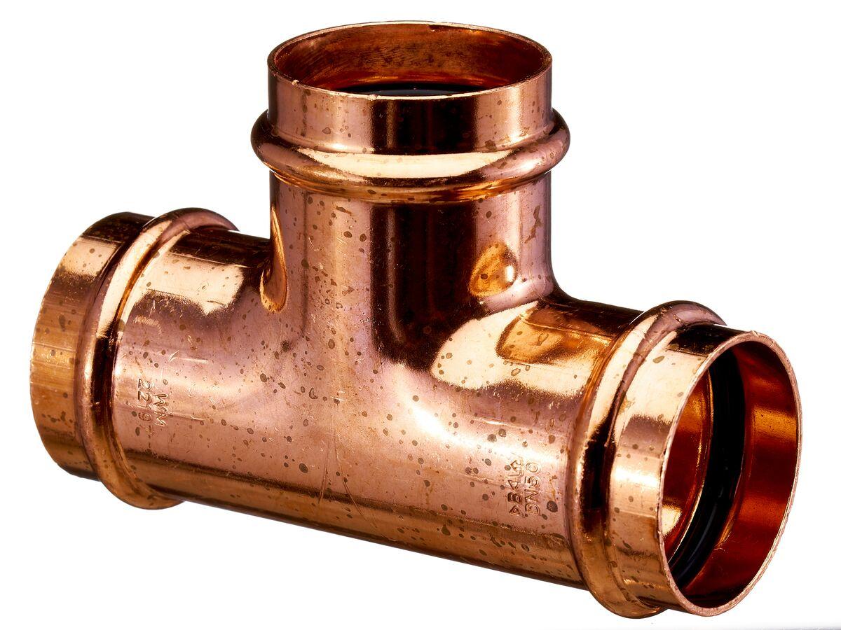 >B< Press Water Equal Tee 50mm