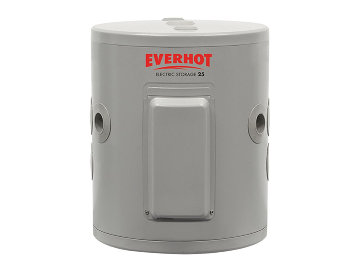 Everhot Electric Hot Water Unit Single Element 25Ltr