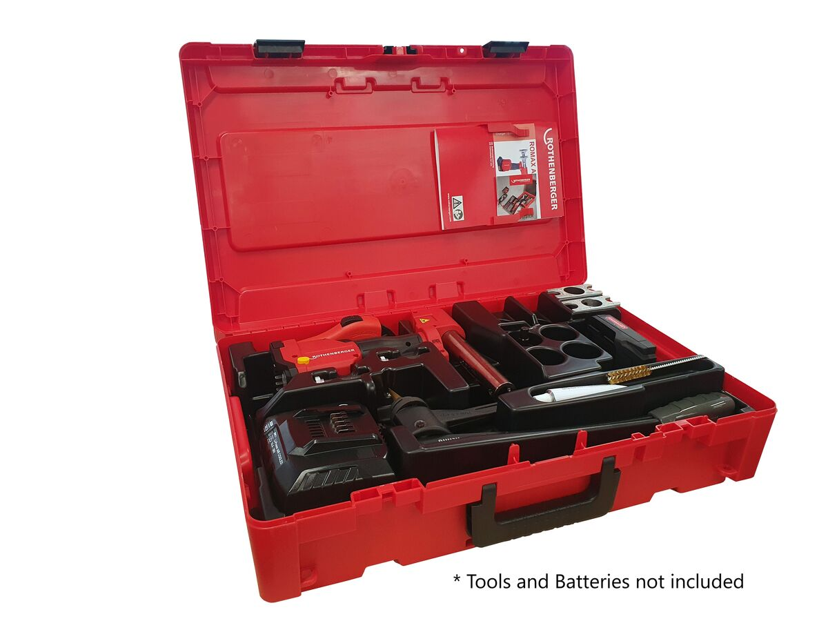 Rothenberger Rocase Suits Romax Axial Rehau