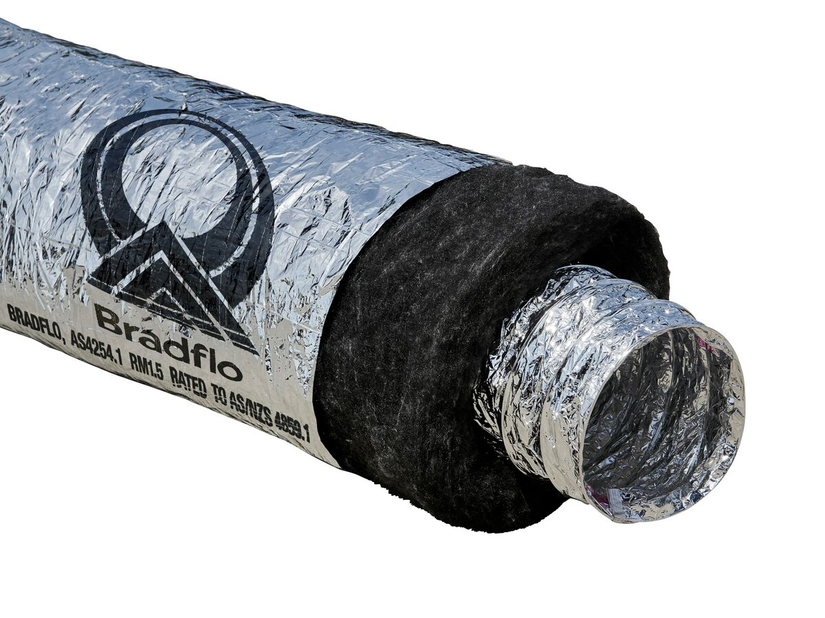 Bradflo Insulated Duct R1.5
