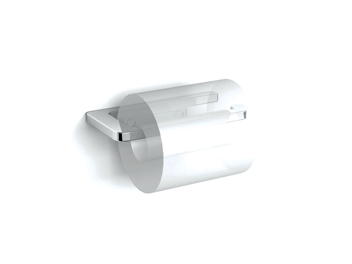 Milli Glance Toilet Roll Holder Chrome