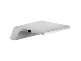 Teknobili Loop Bench Mounted Waterfall Bath Outlet Chrome