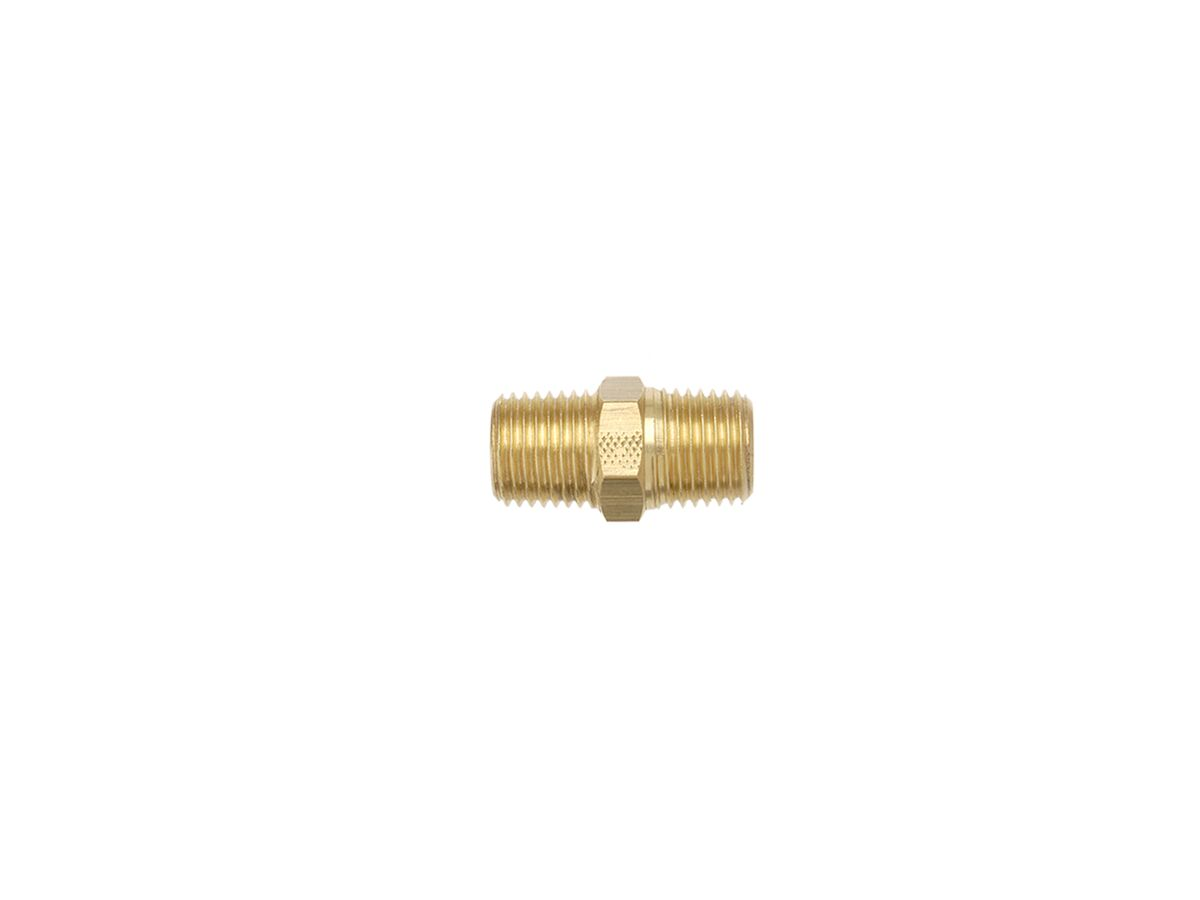 Titon Brass Hex Nipple