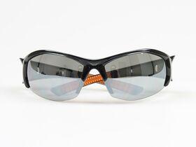 2Tuff Safety Glasses Smoke/Orange Frame