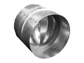 Dura Vents Duct Joiner with Flap Galvanised